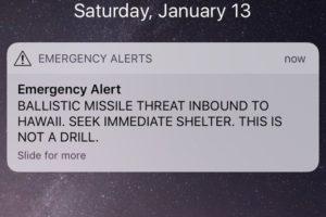 Hawaii's False Alarm