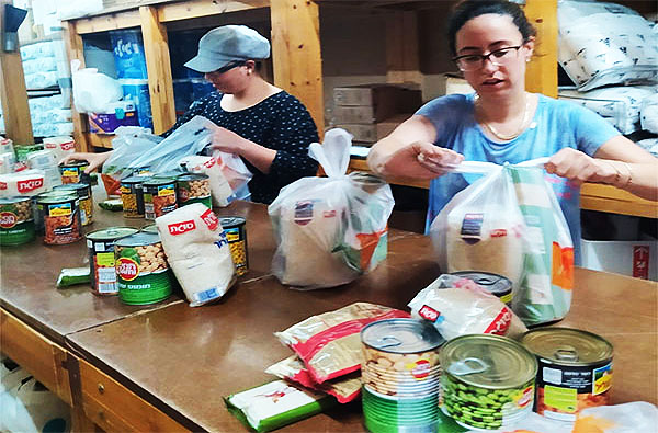 Hope for Sderot Food Packages